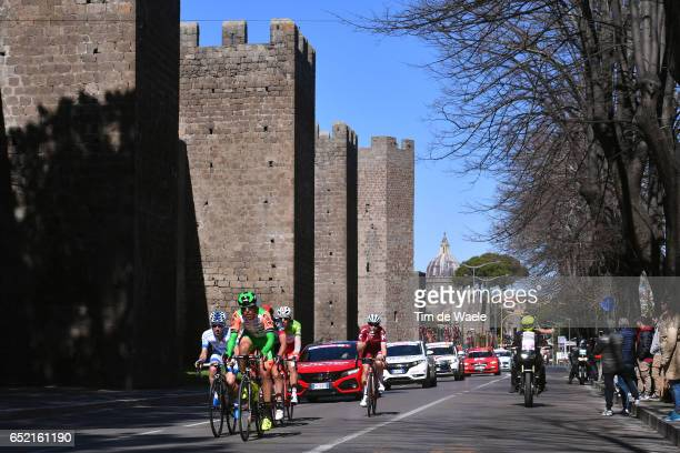 52th Tirreno - Adriatico 2017 / Stage 4 Mirco MAESTRI / Romain GIOUX / Matvey MAMYKIN / Davide BALLERINI / Alan MARANGONI / Marko KUMP / Terni City /...