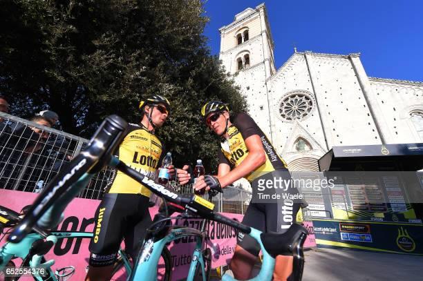 52th Tirreno Adriatico 2017 / Stage 5 Arrival / Robert GESINK / Primoz ROGLIC / Rieti Fermo /