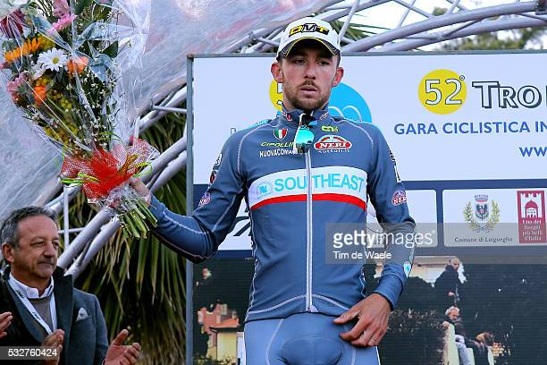 52th Trofeo Laigueglia 2015 Podium/ Francesco GAVAZZI Celebration Joie Vreugde/ LaiguegliaLaigueglia / Tim De Waele