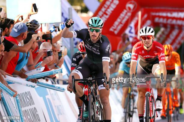 53rd Tour of Turkey 2017/ Stage 1 Arrival / Sam BENNETT / Celebration / Edward THEUNS / Alanya Kemer / Presidential Tour of Turkey / TUR /