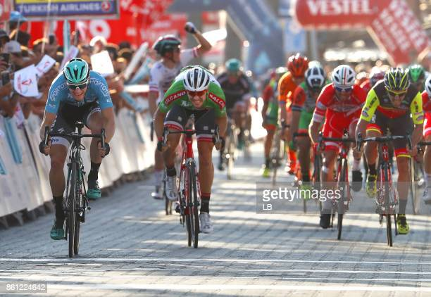 53rd Tour of Turkey 2017/ Stage 3 Arrival / Sprint / Sam BENNETT Blue Leader Jersey / Edward THEUNS Green Sprint Jersey / Manuel BELLETTI / Fethiye...