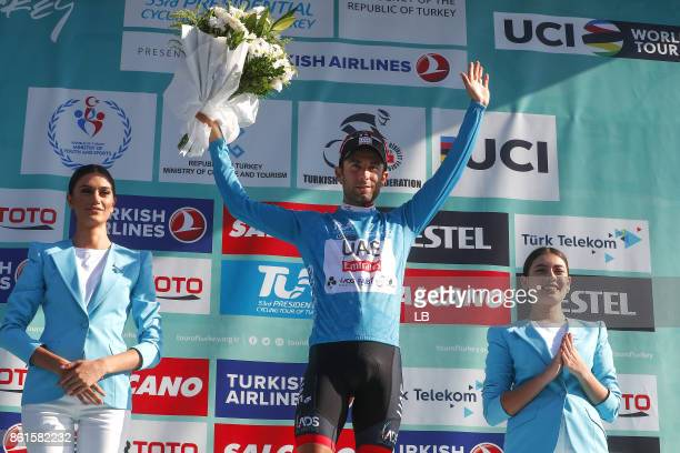 53rd Tour of Turkey 2017/ Stage 6 Podium / Diego ULISSI Blue Leader Jersey / Celebration / Istanbul Istanbul / Presidential Tour of Turkey / TUR /