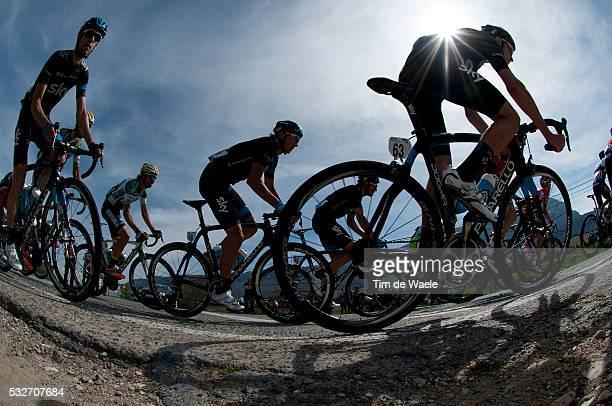 54th Vuelta Pais Vasco 2014/ Stage 3 Joshua EDMONDSON / Illustration Silhouet / UrdaxUrdazubiVitoriaGasteiz Tour Ronde Baskenland/ Etape Rit/ Tim De...