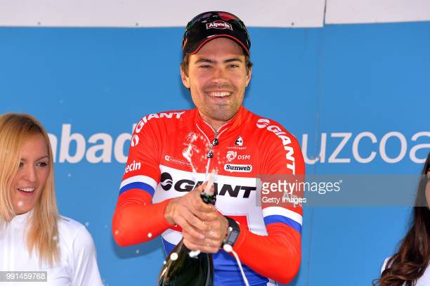 54Th Vuelta Pais Vasco 2015/ Stage 6Podium/ Tom Dumoulin Podium/ Celebration Joie Vreugde Champagne/ AiaAia Time Trial Contre La Montre Tijdrit Itt/...