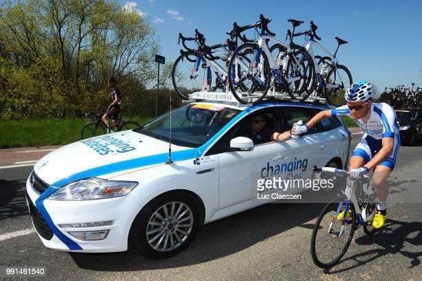 55Th Brabantse Pijl 2015Team Novo Nordisk Car Voiture Auto Sportsdirector Ravitaillement Bevoorrading Leuven Overijse / Fleche Brabanconne Arrow...