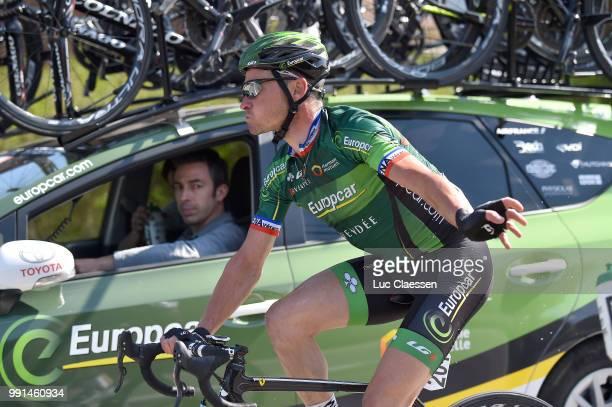 55Th Brabantse Pijl 2015Thomas Voeckler Car Voiture Auto Sportsdirector/ Leuven Overijse / Fleche Brabanconne Arrow Flanders Classics /Tim De Waele