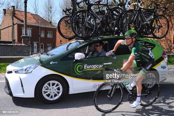 55Th Brabantse Pijl 2015Thomas Voeckler Car Voiture Auto Ravitaillement Bevoorrading Leuven Overijse / Fleche Brabanconne Arrow Flanders Classics...