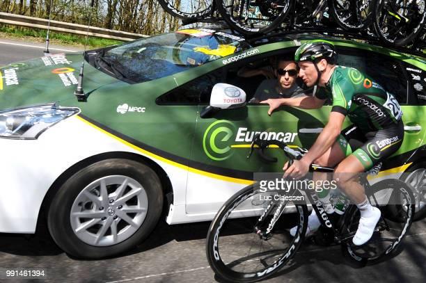 55Th Brabantse Pijl 2015Tony Hurel Car Voiture Auto Sportsdirector Leuven Overijse / Fleche Brabanconne Arrow Flanders Classics /Tim De Waele