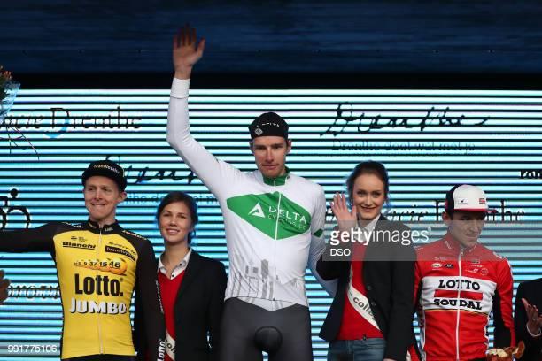 55Th Ronde Van Drenthe 2017 Menpodium Twan Castelijns / JanWillem Van Schip / Jasper De Buyst / Celebration Hoogeveen Hoogeveen Men ©Tim De Waele
