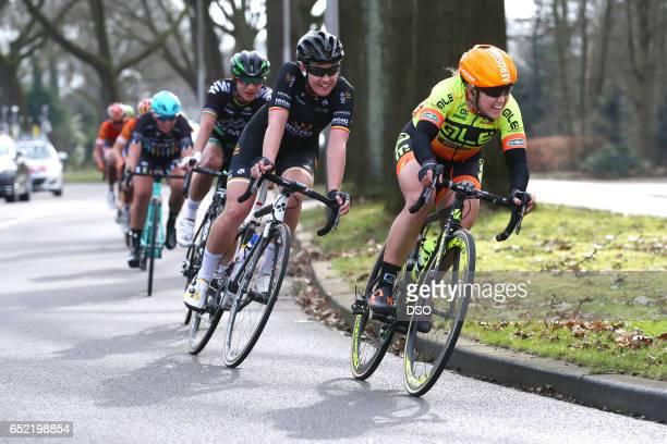 55th Ronde van Drenthe 2017 / Women Chloe HOSKING / Jolien D'HOORE / Marianne VOS / Hoogeveen Hoogeveen / Women / ©Tim De Waele Chloe Hosking Jolien...