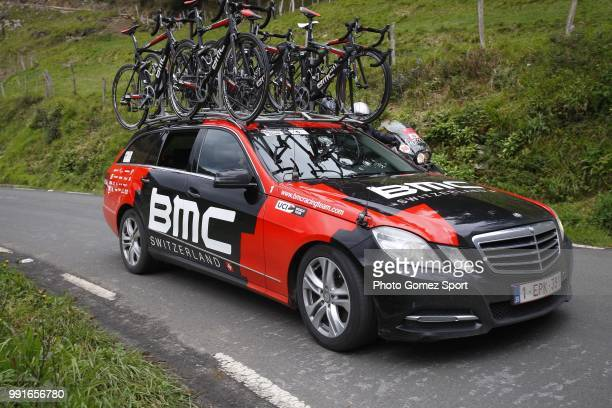 56Th Vuelta Pais Vasco 2016 Stage 1Illustration Illustratie Car Voiture Auto Team Bmc Racing Team / Etxebarria MarkinaXemein Tour Ronde Baskenland/...