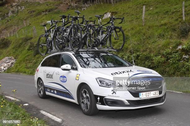 56Th Vuelta Pais Vasco 2016 Stage 1Illustration Illustratie Car Voiture Auto Team Etixx Quick Step / Etxebarria MarkinaXemein Tour Ronde Baskenland/...