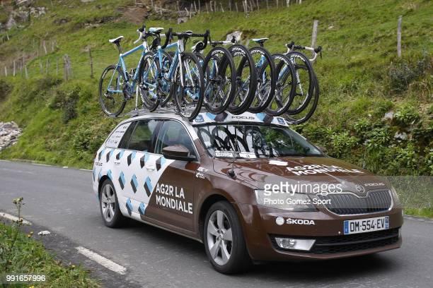56Th Vuelta Pais Vasco 2016 Stage 1Illustration Illustratie Car Voiture Auto Team Ag2R La Mondiale / Etxebarria MarkinaXemein Tour Ronde Baskenland/...