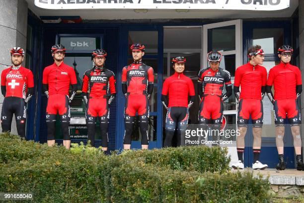 56Th Vuelta Pais Vasco 2016 Stage 1Start Departure Vertrek Bmc Racing Team / Sanchez Samuel / Atapuma Darwin / Caruso Damiano / Dillier Silvan /...
