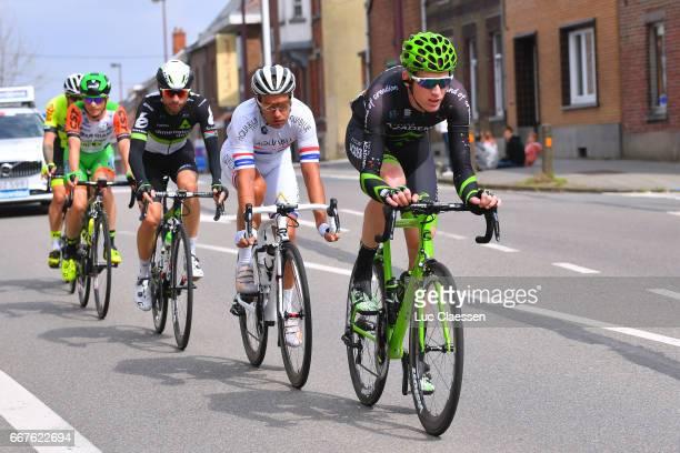 57th Brabantse Pijl 2017 Zak DEMPSTER / Adam BLYTHE / Jacques VAN RENSBURG / Lorenzo ROTA / Christophe MASSON/ Leuven Overijse / Fleche Brabanconne...