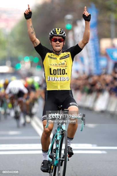57th Vuelta Pais Vasco 2017 / Stage 4 Arrival / Primoz ROGLIC / Celebration / Donostia Bilbao / Tour of Basque Country / Euskal Herriko Itzulia /