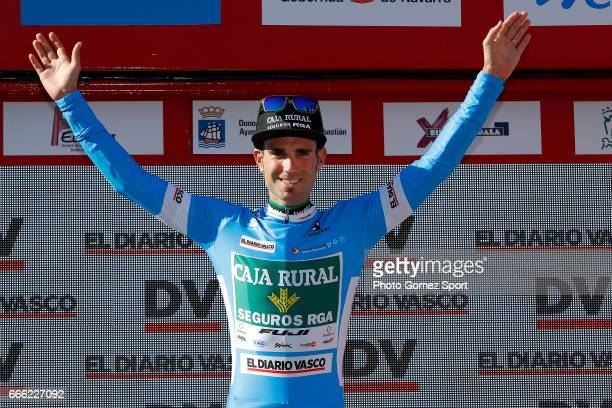 57th Vuelta Pais Vasco 2017 / Stage 6 Podium / Luis MAS BONET Blue Sprint Jersey Celebration / Eibar Eibar / Individual Time Trial / ITT / Tour of...