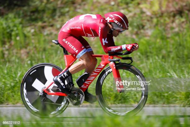 57th Vuelta Pais Vasco 2017 / Stage 6 Tiago MACHADO / Eibar Eibar / Individual Time Trial / ITT / Tour of Basque Country / Euskal Herriko Itzulia /