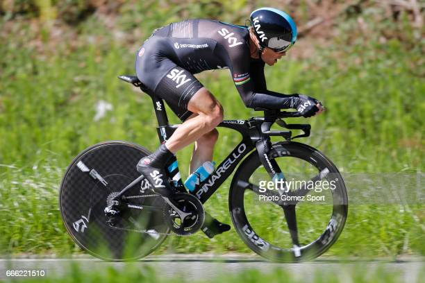 57th Vuelta Pais Vasco 2017 / Stage 6 Vasil KIRYIENKA / Eibar Eibar / Individual Time Trial / ITT / Tour of Basque Country / Euskal Herriko Itzulia /