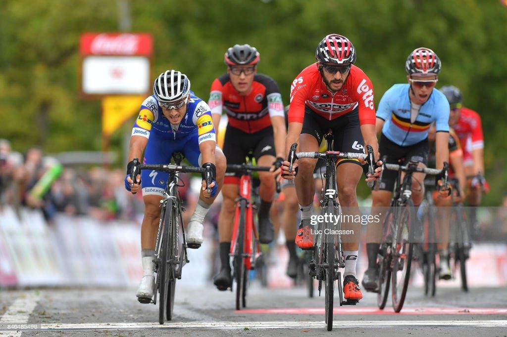 58th Grand Prix de Wallonie Arrival / Gianluca BRAMBILA (ITA)/ Jelle VANENDERT (BEL)/ Chaudfontaine - Citadelle de Namur 216m (212,1km)/ GP Wallonie /