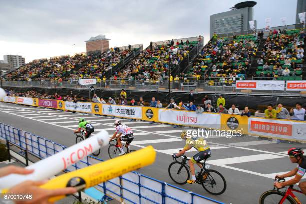 5th Tour de France Saitama Criterium 2017 Christopher FROOME Yellow Leader Jersey / Warren BARGUIL Polka Dot Mountain Jersey / Saitama Saitama / TDF...