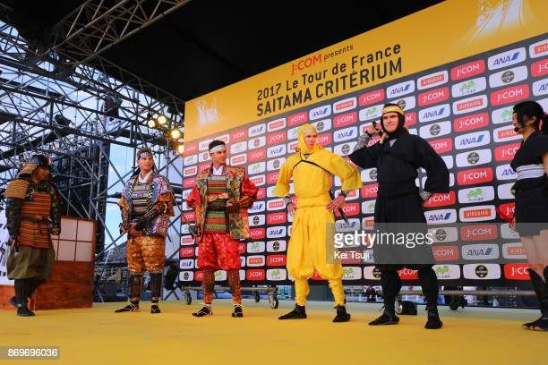 5th Tour de France Saitama Criterium 2017 / Media Day Marcel KITTEL / Warren BARGUIL / Samurai / Christopher FROOME / Greg VAN AVERMAET / Ninja /...
