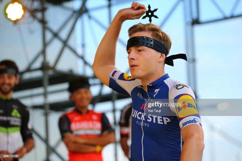 5th Tour de France Saitama Criterium 2017 / Media Day Petr VAKOC (CZE)/ Ninja / Throwing Star / Saitama Criterium / ©Tim De WaeleKT/Tim De Waele/Corbis via Getty Images)