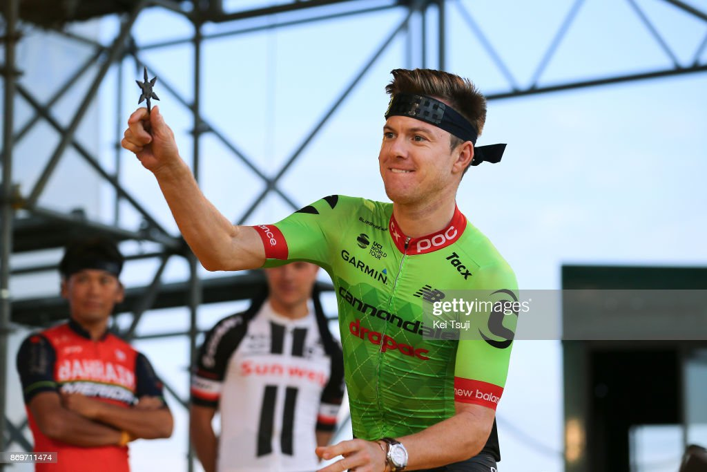 5th Tour de France Saitama Criterium 2017 / Media Day Simon CLARKE (AUS)/ Ninja / Throwing Star / Saitama Criterium / ©Tim De WaeleKT/Tim De Waele/Corbis via Getty Images)