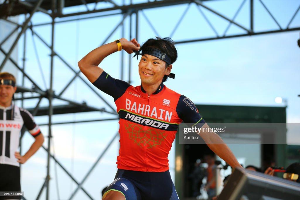 5th Tour de France Saitama Criterium 2017 / Media Day Yukiya ARASHIRO (JPN)/ Ninja / Throwing Star / Saitama Criterium / ©Tim De WaeleKT/Tim De Waele/Corbis via Getty Images)