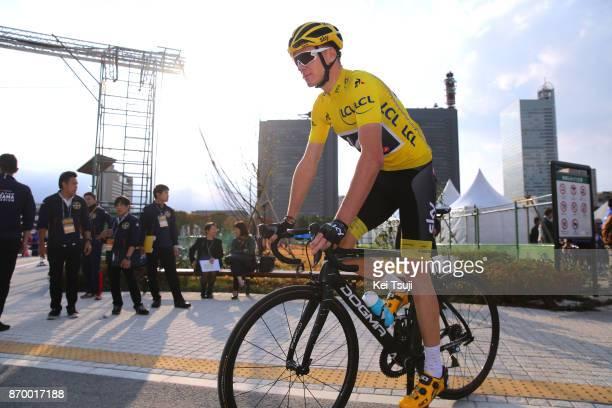 5th Tour de France Saitama Criterium 2017 Start / Christopher FROOME Yellow Leader Jersey / Saitama - Saitama / TDF Saitama Criterium / ©Tim De...