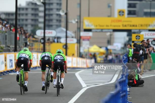 5th Tour de France Saitama Criterium 2017 Team Cannondale Drapac / Tom VAN ASBROECK / Alberto BETTIOL / Simon CLARKE / Team Time Trial / Saitama...