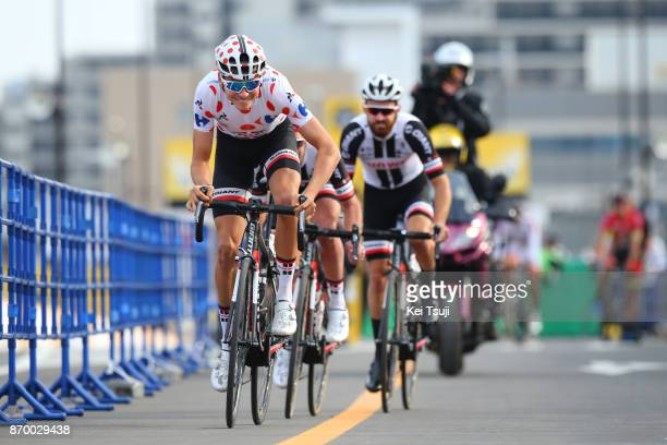5th Tour de France Saitama Criterium 2017 Team Sunweb / Warren BARGUIL Polka Dot Mountain Jersey / Simon GESCHKE / Johannes FROHLINGER / Team Time...