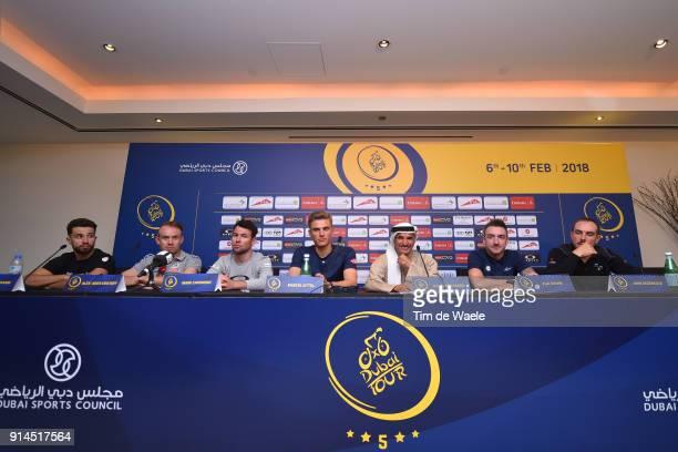 5th Tour Dubai 2018 / PC Elia Viviani / Alexander Kristoff / Mark Cavendish / John Degenkolb / Marcel Kittel / Nacer Bouhanni / HE Saeed Mohammed...
