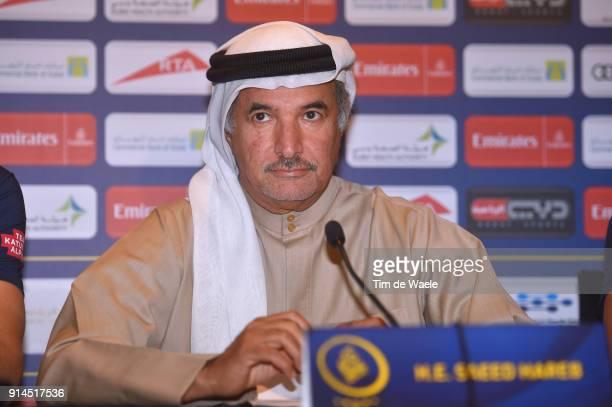 5th Tour Dubai 2018 / PC HE Saeed Mohammed Hareb Secretary General of Dubai Sports Council / The Westin Dubai Mina Seyahi / Press Conference / Dubai...