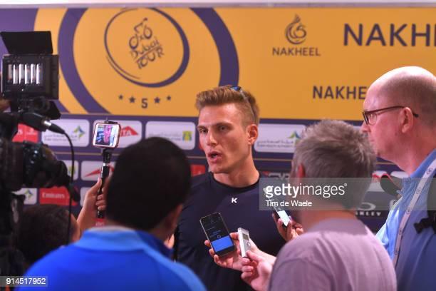 5th Tour Dubai 2018 / PC Marcel Kittel / Press / Media / Interview / The Westin Dubai Mina Seyahi / Press Conference / Dubai Tour /