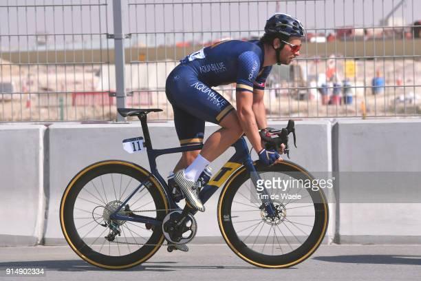5th Tour Dubai 2018 / Stage 1 Adam Blythe of Great Britain / Skydive Dubai Palm Jumeirah / Nakheel Stage / Dubai Tour /
