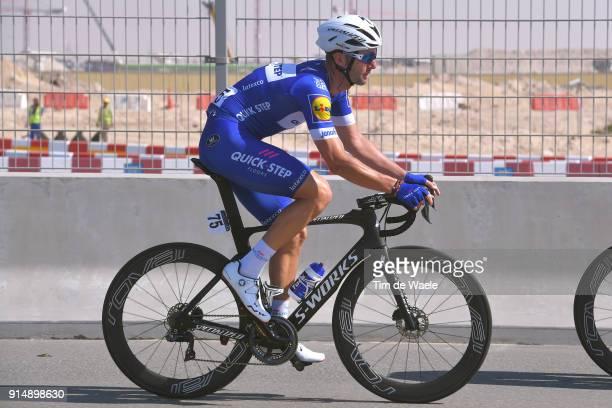 5th Tour Dubai 2018 / Stage 1 Fabio Sabatini of Italy / Skydive Dubai Palm Jumeirah / Nakheel Stage / Dubai Tour /