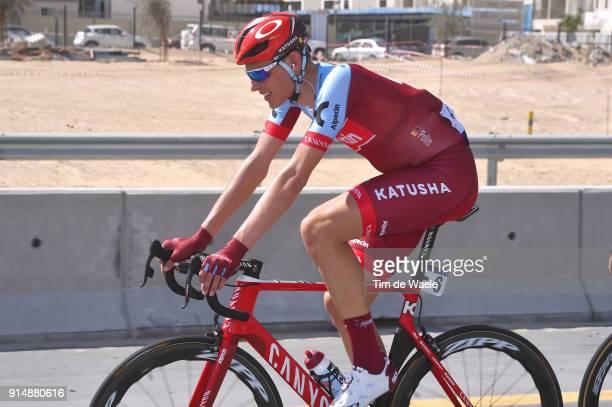 5th Tour Dubai 2018 / Stage 1 Nils Politt of Germany / Skydive Dubai Palm Jumeirah / Nakheel Stage / Dubai Tour /