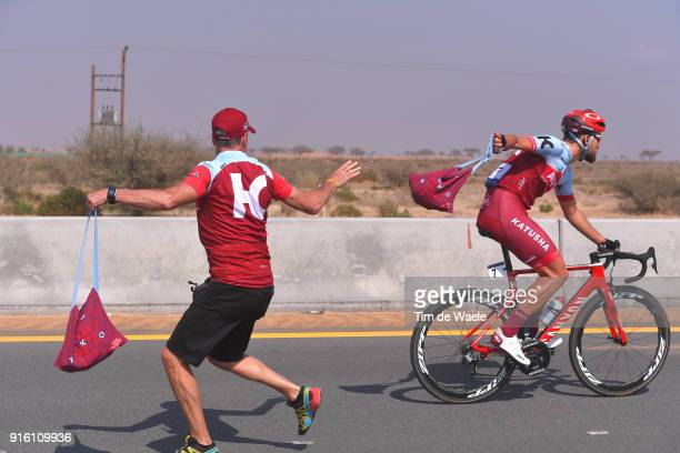 5th Tour Dubai 2018 / Stage 4 Rick Zabel of Germany / Feed Zone / Team Katusha Alpecin / Skydive Dubai Hatta Dam 402m / Dubai Municipality Stage /...
