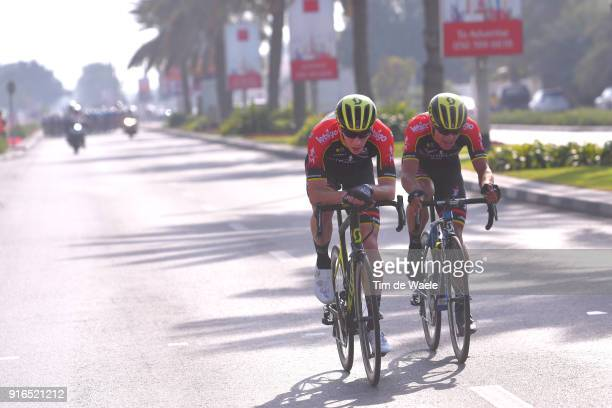 5th Tour Dubai 2018 / Stage 5 Jacob Hennessy of Great Britain / Robert Stannard of Australia / Skydive Dubai City Walk / Meraas Stage / Dubai Tour /