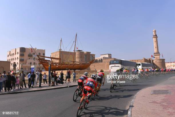5th Tour Dubai 2018 / Stage 5 Landscape / Peloton / Mosque / Dubai City / Boat / Skydive Dubai City Walk / Meraas Stage / Dubai Tour /