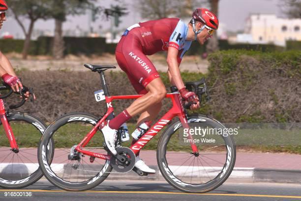 5th Tour Dubai 2018 / Stage 5 Nils Politt of Germany / Skydive Dubai City Walk / Meraas Stage / Dubai Tour /
