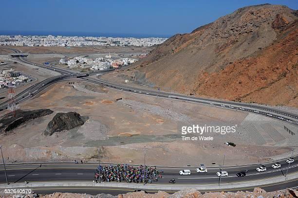 5th Tour of Oman 2014 / Stage 4 Illustration Illustratie / Climb of BOUSHER ALAMRAT / MEDINAT QABOOS City Ville Stad / Peleton Peloton / Landscape...