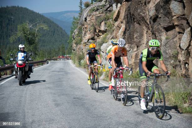 5Th Usa Pro Challenge 2015/ Stage 4Janier Alexis Acevedo Colle / Laurent Didier Mountain Jersey/ AspenBreckenridge /Tour Of Colorado 2015/ Rit Etape/...