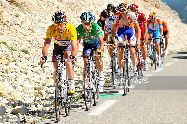 'Cycling 61th Criterium Dauphine Libere / Stage 5 EVANS Cadel Yellow Jersey / CONTADOR Alberto Green Jersey / GESINK Robert / MONCOUTIE David /...