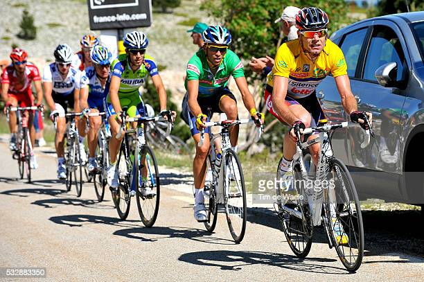 'Cycling 61th Criterium Dauphine Libere / Stage 5 EVANS Cadel Yellow Jersey / CONTADOR Alberto Green Jersey / NIBALI Vicenzo / Valence Le MontVentoux...