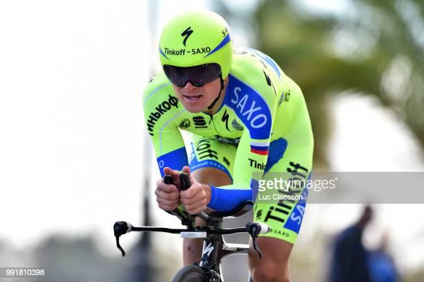 61Th Ruta Del Sol 2015 Stage 1B Individual Time Trial /Eugeni Petrov /Coria Del Rio Coria Del Rio / Itt Contre La Montre Tijdrit Vuelta A Andalucia...