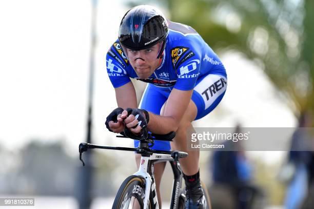 61Th Ruta Del Sol 2015 Stage 1B Individual Time Trial /Fabio Silvestre Blue Jersey /Coria Del Rio Coria Del Rio / Itt Contre La Montre Tijdrit Vuelta...