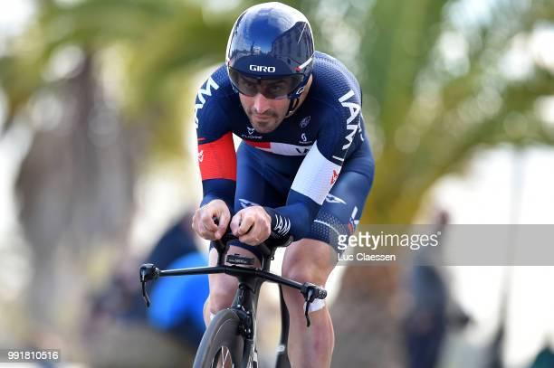 61Th Ruta Del Sol 2015 Stage 1B Individual Time Trial /Jerome Pineau /Coria Del Rio Coria Del Rio / Itt Contre La Montre Tijdrit Vuelta A Andalucia...