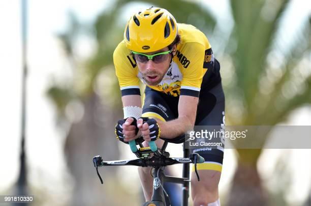 61Th Ruta Del Sol 2015 Stage 1B Individual Time Trial /Laurens Ten Dam /Coria Del Rio Coria Del Rio / Itt Contre La Montre Tijdrit Vuelta A Andalucia...